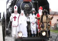 Mikulášský parní vlak Lucius (Hořovice)