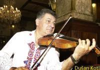 Cimbálová muzika Dušana Kotlára opět potěší.