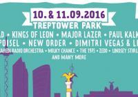 Berlínská Lollapalooza letos přiveze Radiohead, New Order, Kings Of Leon i Major Lazer