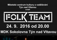 FOLK TEAM - folkový večer na Sokolovně
