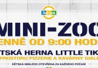 Mini-Zoo + dětský koutek Little Tikes ve Žlutých lázních