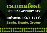 Cannafest 2016 Official Afterparty v Paláci Akropolis