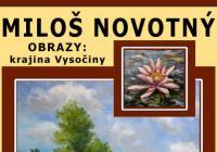 Výstava obrazů: Miloš Novotný - průřez tvorbou