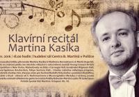 Klavírní recitál Martina Kasíka