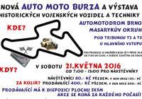 Auto moto burza, sběratelská burza a výstava historických vojenských vozidel