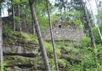 Zřícenina hradu Sokolčí, Benešov nad Černou