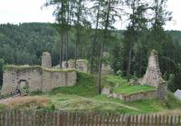 Zřícenina hradu Pořešín, Pořešín