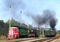 Železniční slavnost - Nýřanské železniční září