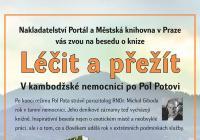 Beseda s parazitologem RNDr. Michalem Gibodou, autorem nové knihy Léčit a přežít.