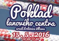 Poklad lanového centra v Loděnici Vltava