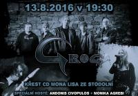 Křest CD kapely Grog: Mona Lisa ze Stodolní