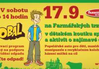 Tonda Obal doputoval na Farmářské trhy na Kulaťáku.