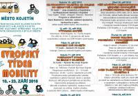 Evropský týden mobility 2016 v Kojetíně