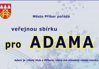 Veřejná sbírka na ADAMA