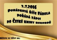 Skřítek Fábula vstupuje do české knihy rekordů!
