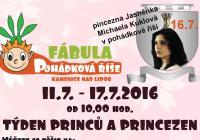 Týden princů a princezen v Pohádkové říši Fábula