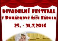 Divadelní festival v pohádkovém království skřítka Fábuly