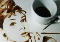 Malování kávou
