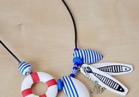 Letní fimodílna - námořnický náhrdelník