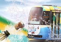 Slavnostní křest tramvaje Aqualandu Moravia