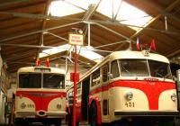 Slavnostní zahájení trolejbusového provozu v Praze