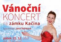 Vánoční koncert sopranistky Jany Štěrbové na zámku Kačina