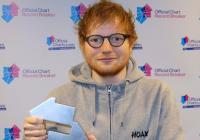 Fanoušci Eda Sheerana nezklamali. Učinili z něj nejprodávanějšího britského umělce