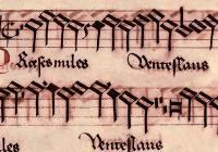 Concert of renaissance polyphonic music