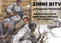 Zimní bitva - Army Park Ořechov u Brna