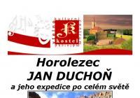 Horolezec Jan Duchoň a jeho expedice po celém světě