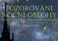 Galaxie, mlhoviny i hvězdy z věže kostela sv. Jakuba