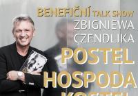 Benefiční talk show Zbigniewa Czendlika Postel hospoda kostel