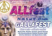gALLaFEST: Koncert, módní přehlídka a diskuse s umělci
