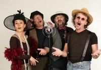 Koncert folkové skupiny Nezmaři na Křivoklátě