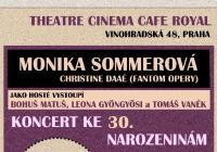 Narozeninový koncert Moniky Sommerové
