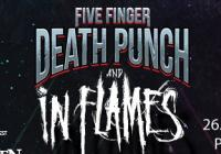 Five Finger Death Punch & In Flames v Praze
