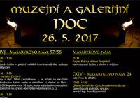 Muzejní a galerijní noc 2017
