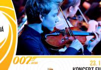 Koncert filmové hudby v rámci 007. ročníku festivalu Černá věž