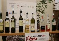 Ochutnávka vín z mezinárodní soutěže Grand Prix Vinex 2017