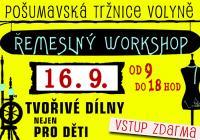 Řemeslný workshop a sousedský festival Zažít Volyni jinak