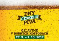 Dny českého piva 2017