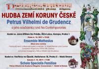Hudba zemí Koruny české – Petrus Vilhelmi de Grudencz a jeho současníci
