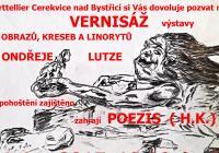 Vernisáž kreseb a linorytů Ondřeje Lutze