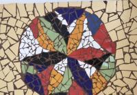 Mozaika II. velký formát obraz A2