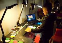 Vánoční workshop křídové animace