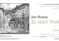 Jan Honsa: Ze staré Prahy
