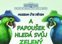 Muzeum čte dětem