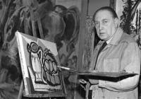 Muž s hořící hřívou. Emil Filla a surrealismus 1931–1939
