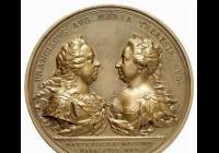 Císařovna Marie Terezie na mincích a medailích