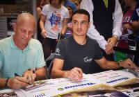 Autogramiáda jezdců Barum Rally ve Zlatém jablku